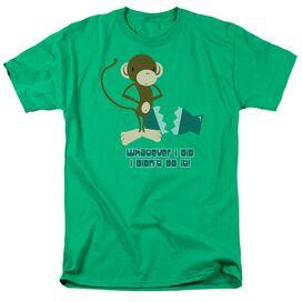 I Didnt Do It! Short Sleeve Adult Kelly T-Shirt