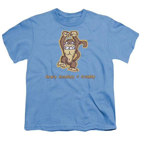 Angry Monkey Short Sleeve Youth Carolina T-Shirt