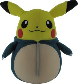 Pokemon Pikachu Nebukuro Snorlax Mecha Plush