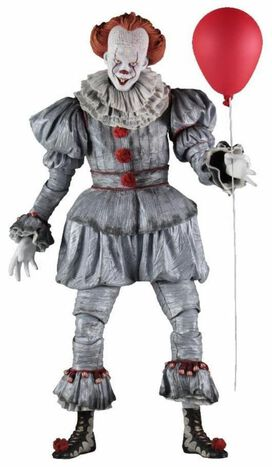 NECA IT (2017) - Quarter Scale Pennywise Action Figure
