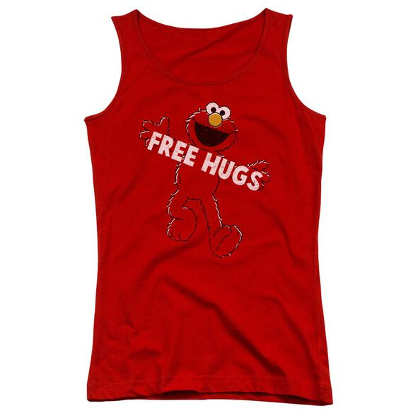 Sesame Street Free Hugs Juniors Tank Top