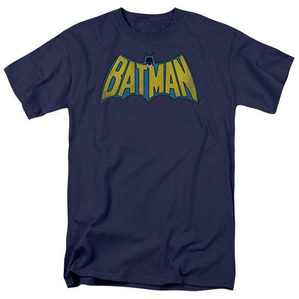 Dc Classic Batman Logo Short Sleeve Adult T-Shirt