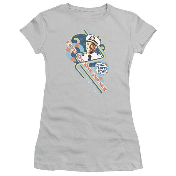 Love Boat Exciting And New Short Sleeve Junior Sheer T-Shirt