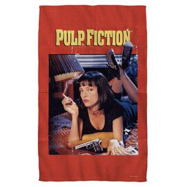 Pulp Fiction Pf Poster Towel White