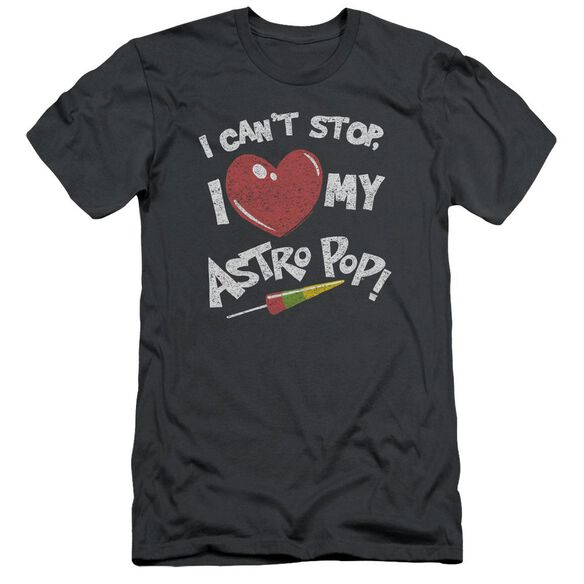 Astro Pop I Heart Short Sleeve Adult T-Shirt