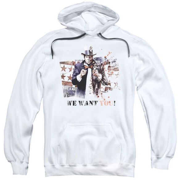 Arkham City We Want You Adult Pull Over Hoodie