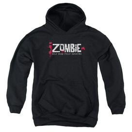 Izombie Logo Youth Pull Over Hoodie