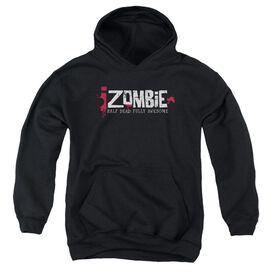 Izombie Logo Youth Pull Over Hoodie