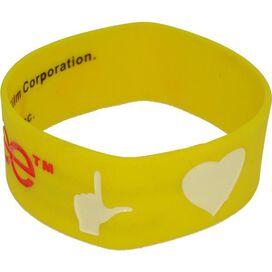 Glee Symbols Rubber Wristband