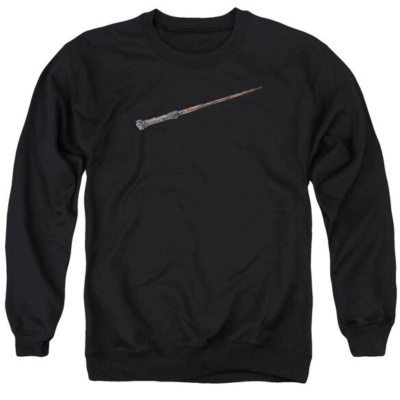 Harry Potter Harry's Wand Adult Crewneck Sweatshirt