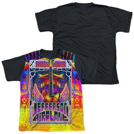 Jefferson Airplane San Francisco Short Sleeve Youth Front Black Back T-Shirt