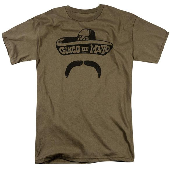 Mucho Sombrero Short Sleeve Adult Sand T-Shirt