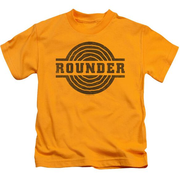 Rounder Rounder Distress Short Sleeve Juvenile T-Shirt