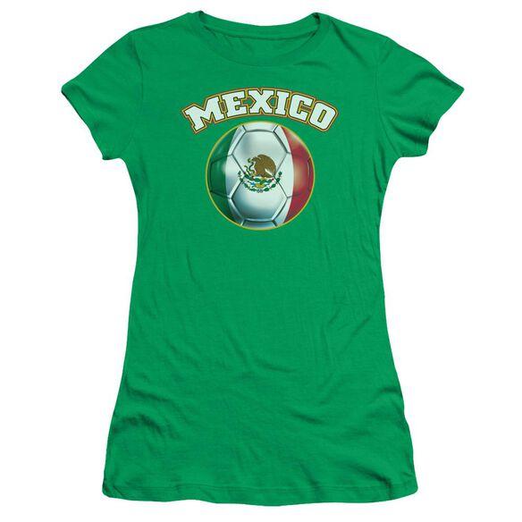 Mexico Short Sleeve Junior Sheer Kelly T-Shirt