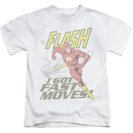 DC FLASH FAST MOVES - S/S JUVENILE 18/1 - WHITE - T-Shirt