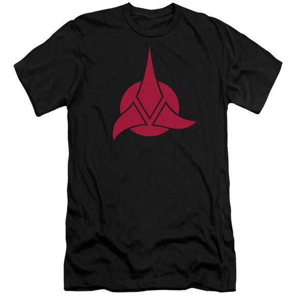 Star Trek Klingon Logo Short Sleeve Adult T-Shirt