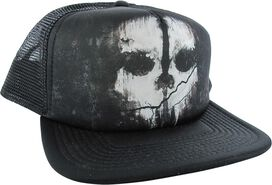 Call of Duty Skull Trucker Snapback Hat