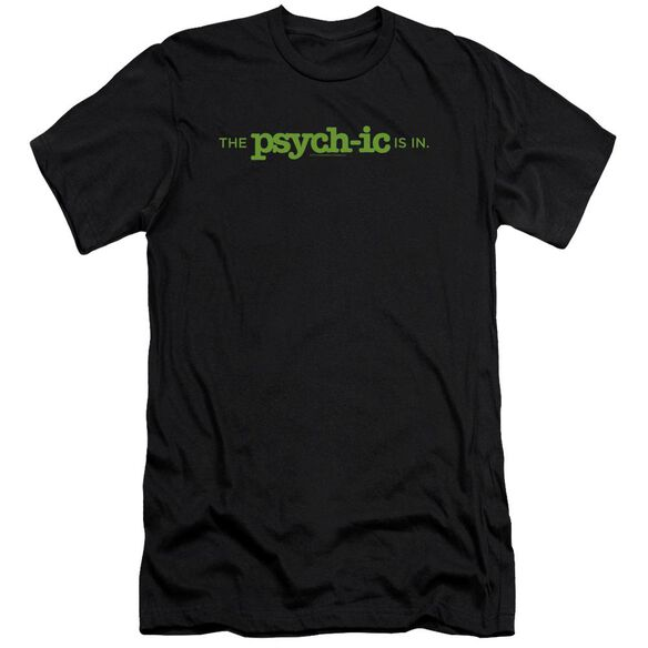 Psych The Psychic Is In Premuim Canvas Adult Slim Fit