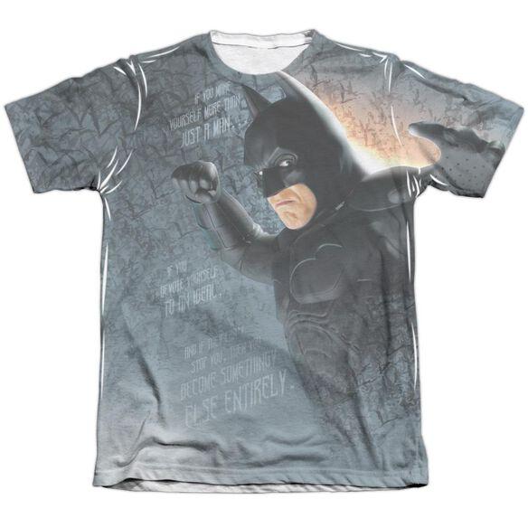 Batman Begins Legend Adult Poly Cotton Short Sleeve Tee T-Shirt