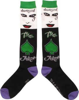 Suicide Squad Damaged Ladies Knee High Socks