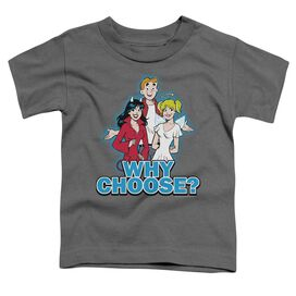 Archie Comics Why Choose Short Sleeve Toddler Tee Charcoal Md T-Shirt