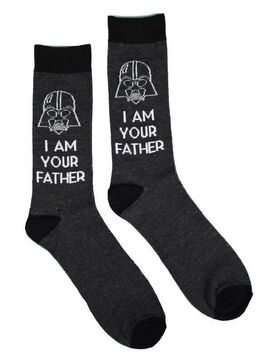 Star Wars Darth Vader I Am Your Father Socks [2 pack]