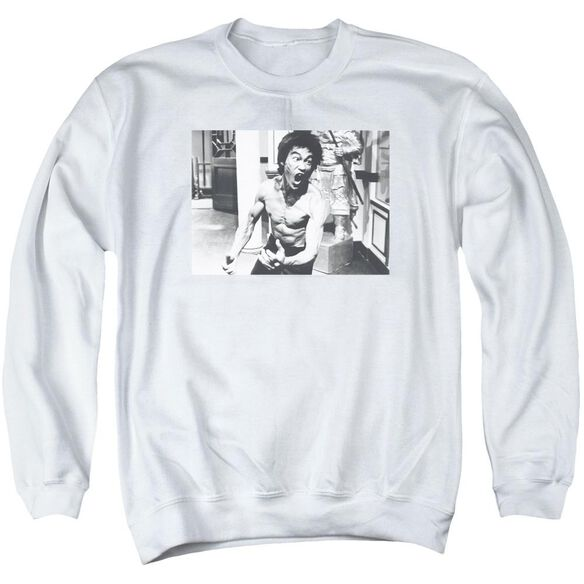 Bruce Lee Full Of Fury Adult Crewneck Sweatshirt