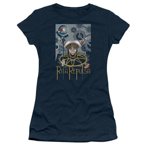 Power Rangers Rita Deco Short Sleeve Junior Sheer T-Shirt