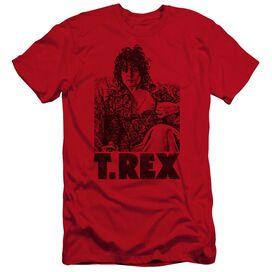 T Rex Lounging Premuim Canvas Adult Slim Fit