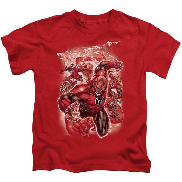 Green Lantern Red Lanterns #1 Short Sleeve Juvenile Red T-Shirt