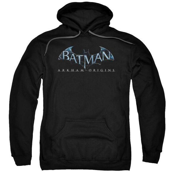 Batman Arkham Origins Logo Adult Pull Over Hoodie