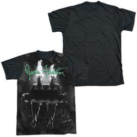 Janes Addiction Nothings Shocking Short Sleeve Adult Front Black Back T-Shirt