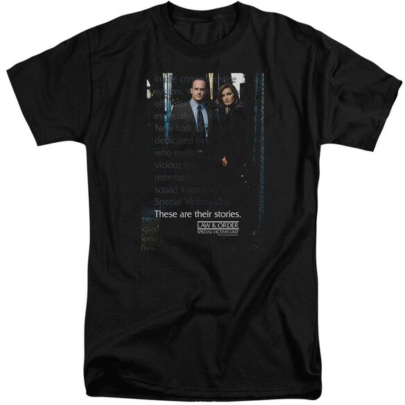 Law And Order Svu Svu Short Sleeve Adult Tall T-Shirt