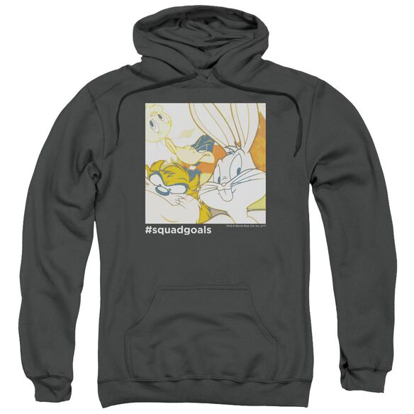 Looney Tunes Squad Goals Adult Pull Over Hoodie