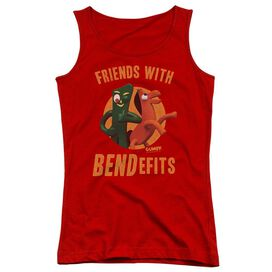 Gumby Bendefits Juniors Tank Top