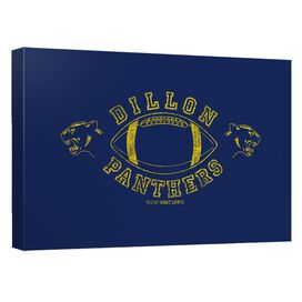 Friday Night Lights Dillion Panthers Canvas Wall Art With Back Board