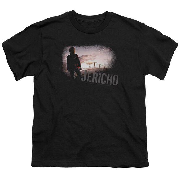 JERICHO MUSHROOM CLOUD - S/S YOUTH 18/1 - BLACK T-Shirt