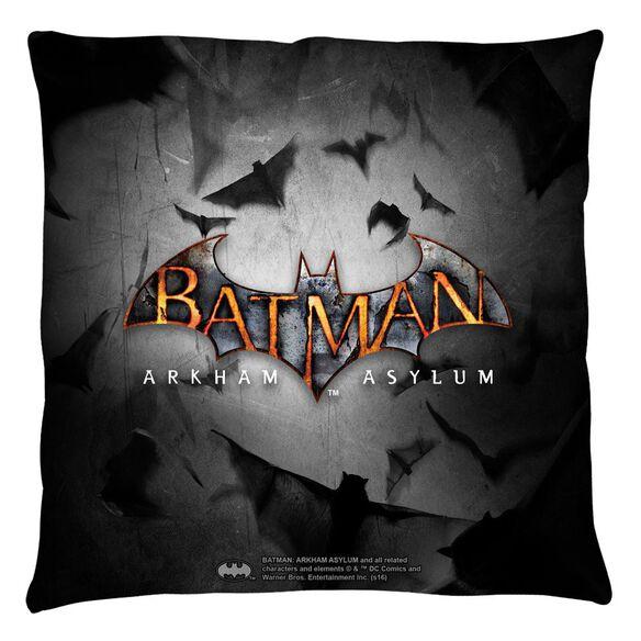 Batman Arkham Asylum Logo Throw