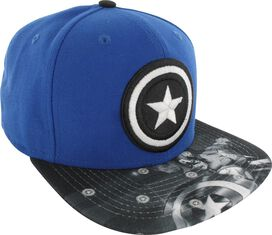 Captain America Logo Glow in the Dark 9Fifty Hat