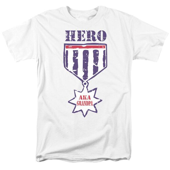 Hero Aka Grandpa Short Sleeve Adult T-Shirt