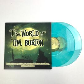 Danny Elfman / Stephen Sondheim / Howard Shore - The World Of Tim Burton [Exclusive 2LP Clear Blue Vinyl]