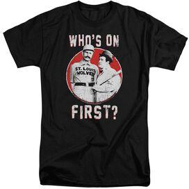 Abbott & Costello First Short Sleeve Adult Tall T-Shirt