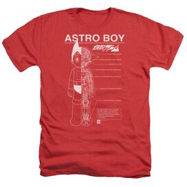 Astro Boy Schematics Adult Heather