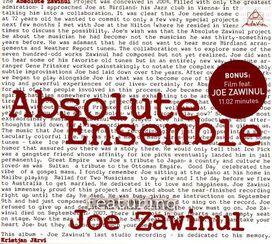 Joe Zawinul - Absolute Zawinul