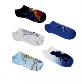 Frozen II - Winter Assortment Low-Cut Socks [5 pack]