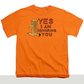 GARFIELD YES I AM - S/S YOUTH 18/1 - ORANGE T-Shirt
