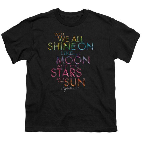 John Lennon All Shine On Short Sleeve Youth T-Shirt