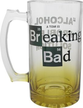 Breaking Bad Alcohol is Not a Problem Glass Mug