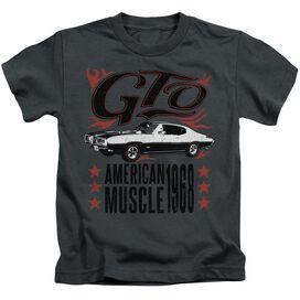 Pontiac Gto Flames Short Sleeve Juvenile T-Shirt