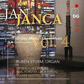 Ruben Sturm / Opus Vocale Berlin/ Hedtfeld Volker - Janca: Organ And Choir Works 4